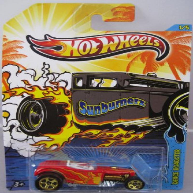 2013 Mattel Hot Wheels Sunburnerz Deuce Roadster 1:64 Die-Cast by