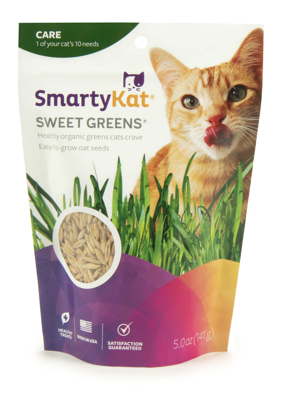 1 Oz SmartyKat Sweet Greens Cat Grass Kit