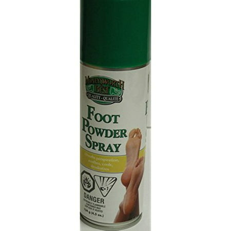 Foot Powder Spray Moneysworth & Best (Best Foot Odour Products)