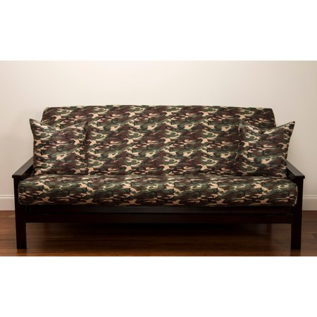 Siscovers Galaxy Camo 7 Inch Deep Full Size Futon Cover