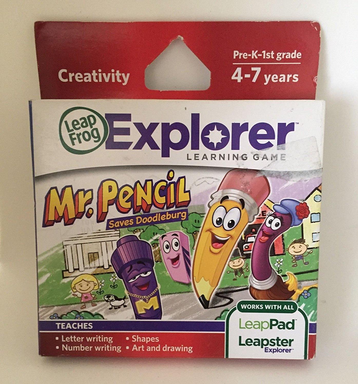 ~~ LeapFrog LeapPad 2 Explorer Learning Game Mr Pencil Ag...
