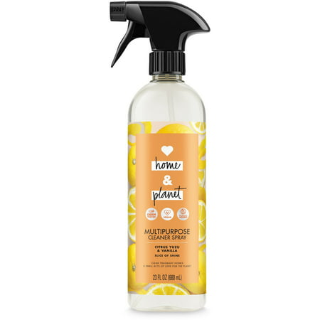 Love Home and Planet Multipurpose Cleaner Spray Citrus Yuzu & Vanilla 23