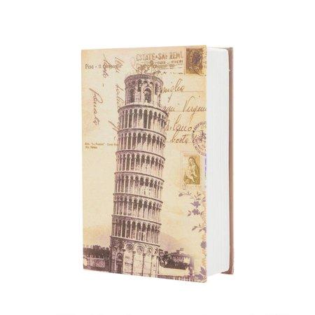 Ktaxon Medium Book Safe Design Code Lock Cash Money Valuables Hidden Box Case Home Props Book
