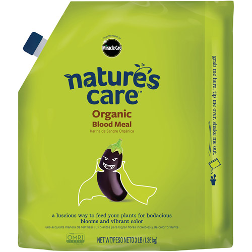 Miracle-Gro Nature's Care Organic Blood Meal, 3 lbs