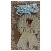Big Deal Glittered Gift Tag 6 Pack