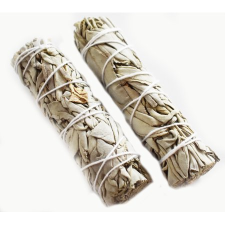 2 Pack - California White Sage Smudge Mini Travel Stick 4