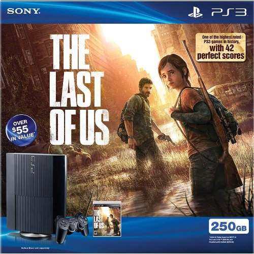 Refurbished Playstation 3 PS3 250GB The Last Of US Bundle