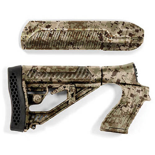 Image of Adaptive Tactical EX Performance Adjustable Stock with Forend for Moss 500, 590, 88 12g