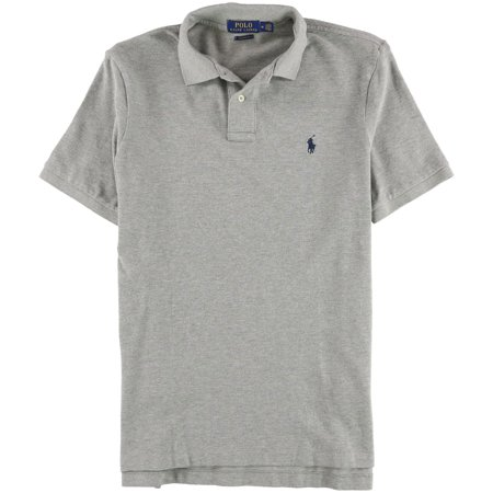 Ralph Lauren Mens Weathered Mesh Rugby Polo Shirt