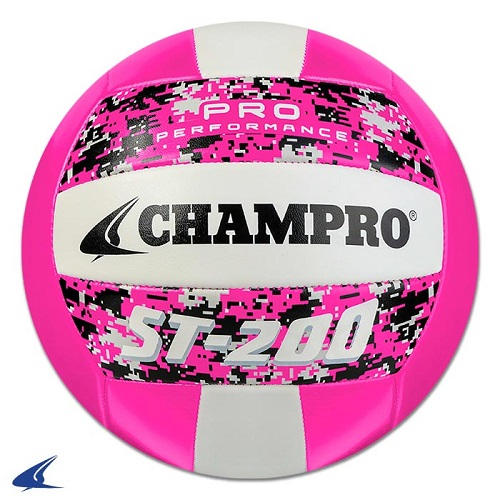 CHAMPRO ST-200 Volleyball Camo Optic Pink