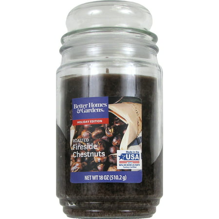 Better Homes And Gardens Jar Candle, Roasted Fireside Chestnuts