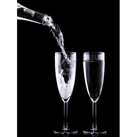 LAMINATED POSTER Drink Crystal New Festive Eve Glass Toast Year Poster Print 11 x 17