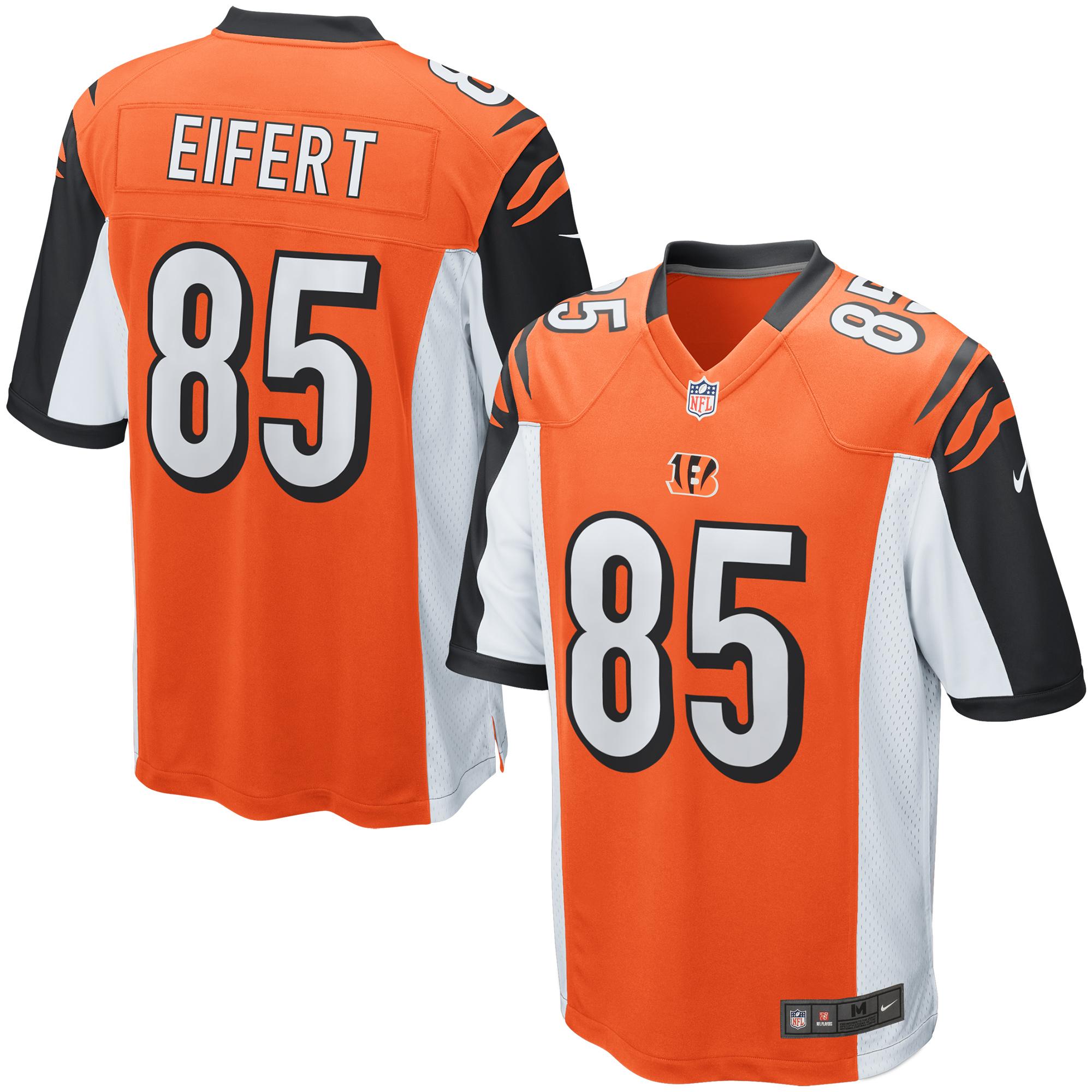 Tyler Eifert Cincinnati Bengals Nike Game Jersey - Orange