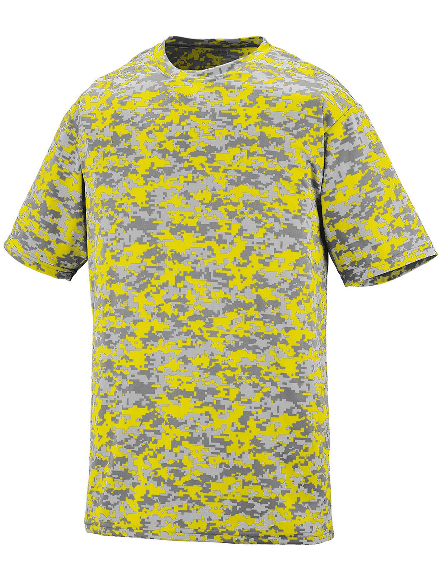 Augusta Men's Digi Camo Wicking T-Shirt, Style 1798A
