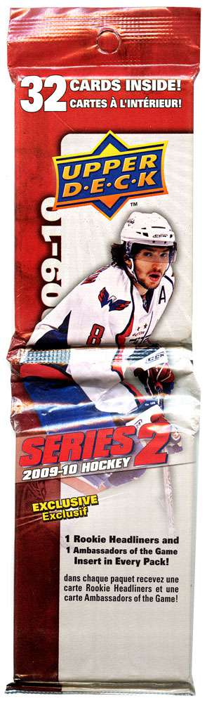 NHL 2009-10 Hockey Series 2 Trading Card Fat Pack by