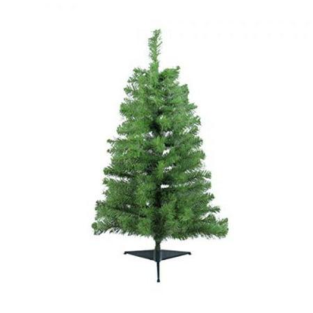 28 Noble Fir Unlit Artificial Christmas Tree 4