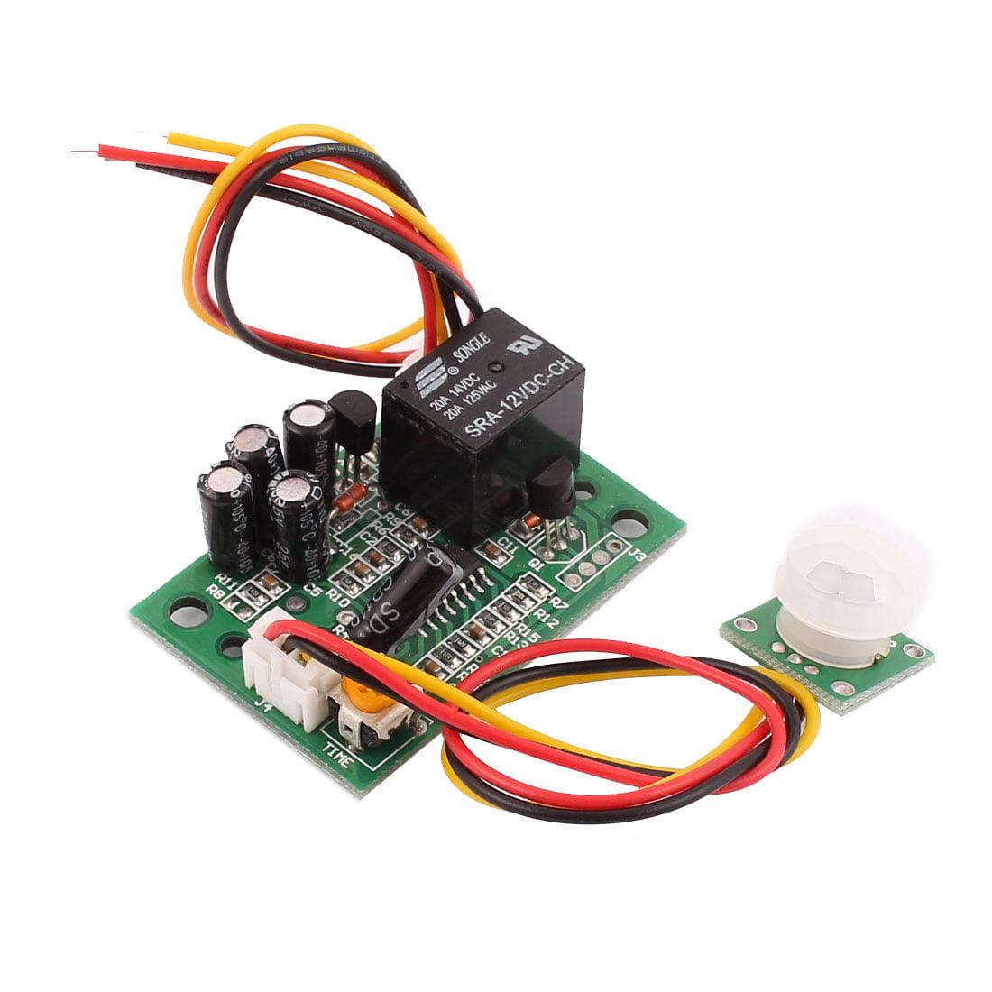 12V DC Human Body Motion Sensor Module Switch Board Infrared Sensor