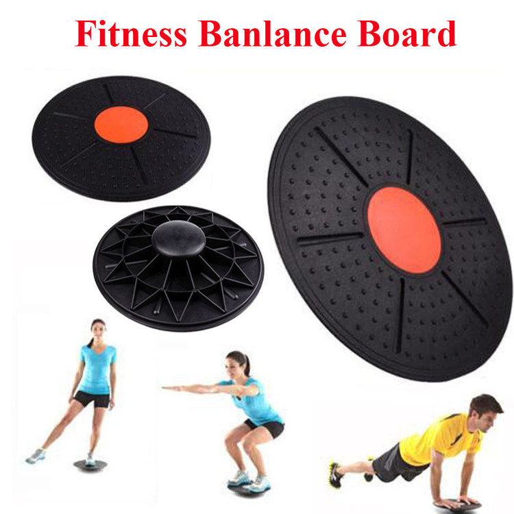 Walfront 14Inches Stability Training Fitness Balance Board for Active Men & Women, Wobble Balancing Boards for Abs... by
