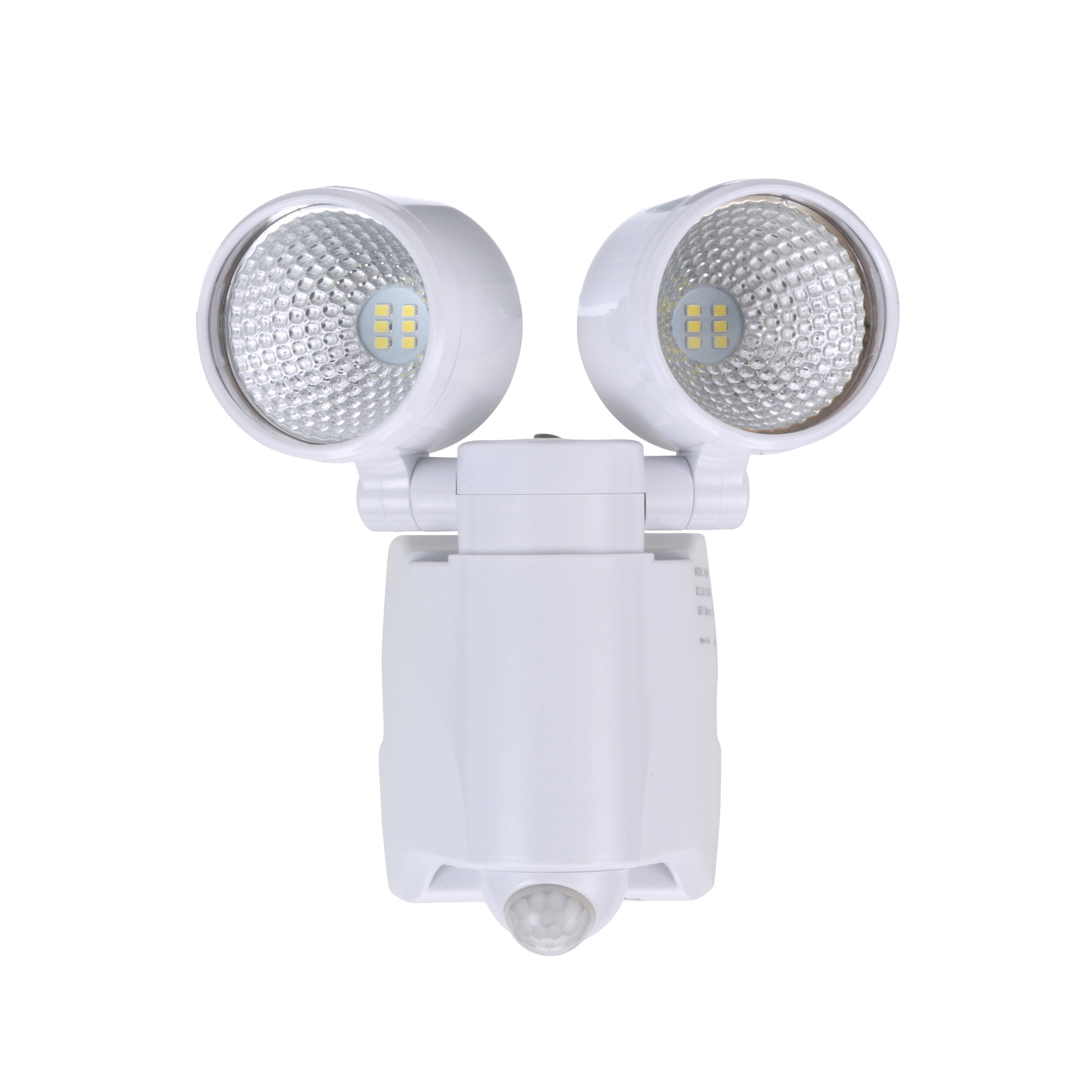 Brinku0027s LED Battery Operated Portable Motion Security Light, White