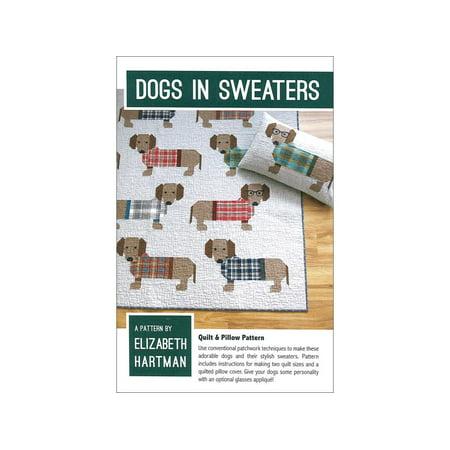 Elizabeth Hartman Dogs In Sweaters Ptrn