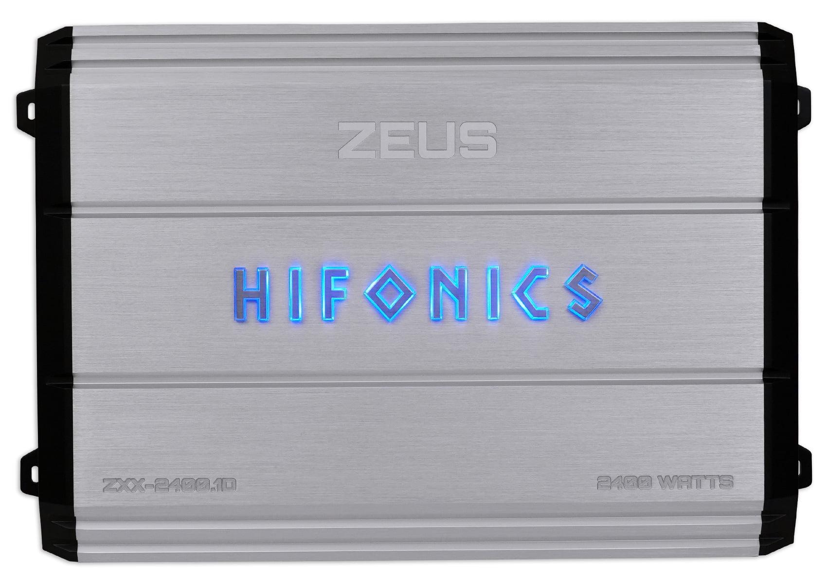 Hifonics Zeus Zxx 24001d 2400 Watt Rms Mono Car Amplifier Bass Amp Wiring Diagram Remote Kit