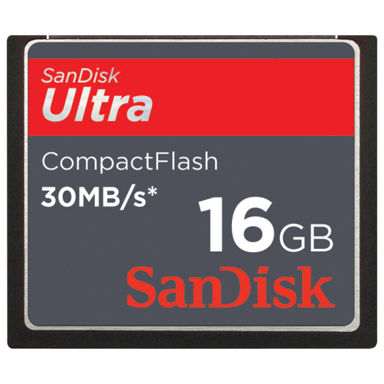 Sandisk Sdcfhs-016g-a46 Sandisk Ultra Compactflash Memory Card (16gb)