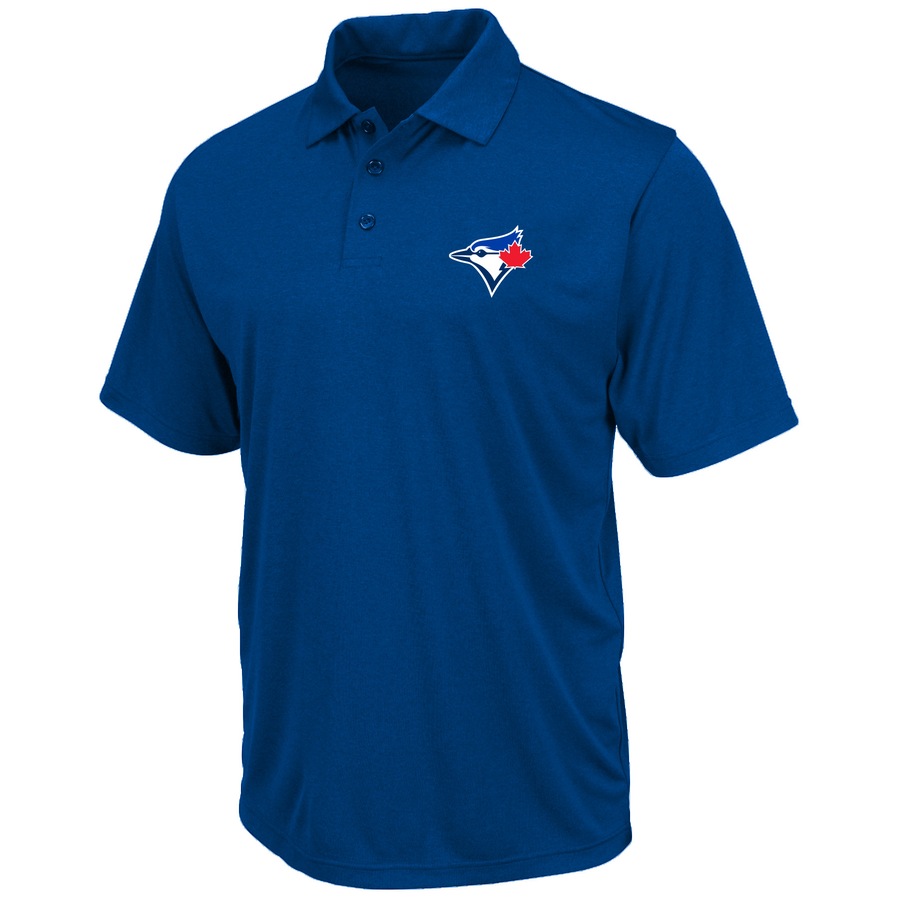 Toronto Blue Jays Majestic Big & Tall Team Birdseye Polo - Royal