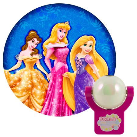- Projectables LED Automatic Plug-In Night Light Disney Princesses, 21745