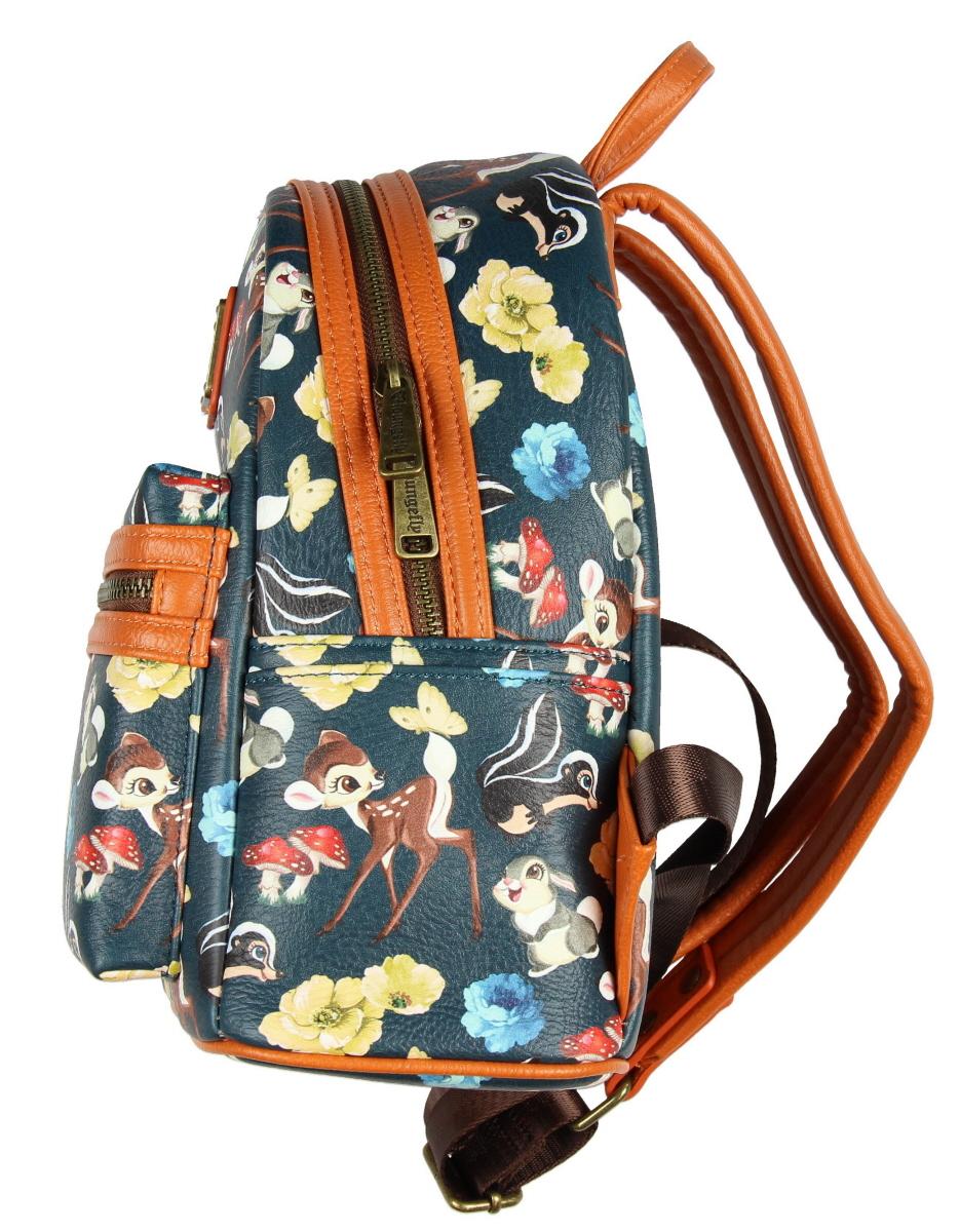 53e87b4f3d3 Loungefly - Loungefly x Disney Bambi And Friends Mini Backpack - Walmart.com