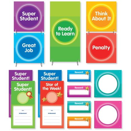 Color Your Classroom   Behavior Clip Chart Mini Bulletin Board
