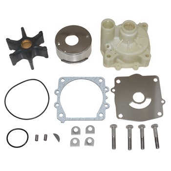 Water Pump Kit w/Housing Yamaha 150-250hp V6 Pro #: 3396 X-Ref #: 61A-W0078-A2-00 18-3396, 61A-W0078-A2-00, 61A-W0078-A3-00, 64L-W0078-00-00, - 0000 Marine