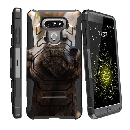 Case for LG G6 H870 | LG G6 Hybrid Casee [ Armor Reloaded ] Heavy Duty Case with Belt Clip & Kickstand Cute Animals Collection