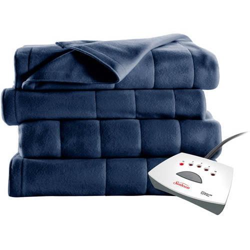 Sunbeam Fleece Electric Heated Blanket, 1 Each
