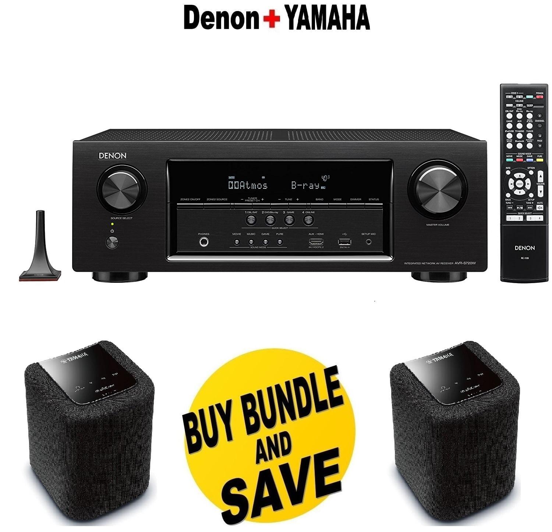 Denon AVR-S720W 7.2 Channel Full 4K Ultra HD AV Receiver ...