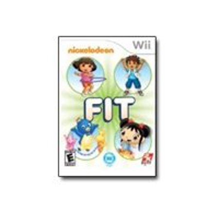 Nickelodeon Fit, 2K, Wii 710425348396
