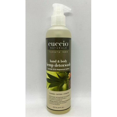 Cuccio Naturale Luxury Spa - Hand & Body Hemp Detox Wash 8oz