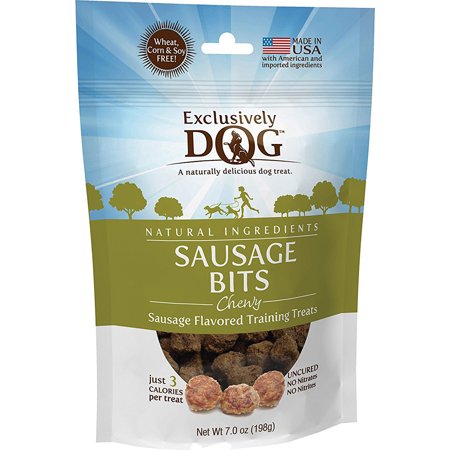 Exclusively Dog Cookies Sausage Bits