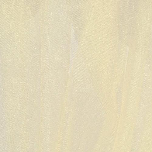 Nylon Mandel Fabrics Sparkle Tulle Fabric, Bride's Ivory