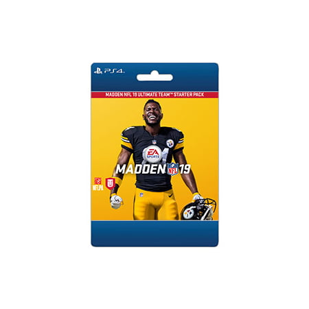 Madden 15 Halloween Pack (Madden NFL 19 - Starter Pack, Electronic Arts, Playstation, [Digital)