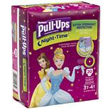Huggies Pull-Ups Night-Time Training Pants for Girls 3T-4T 20.0 ea (pack of 2)