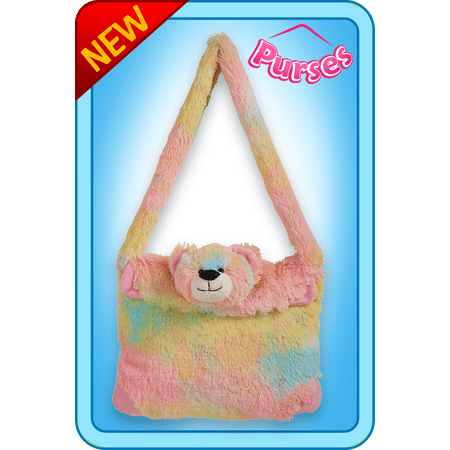 Seen Tv Purse Hook (As Seen On TV Pillow Pets Purse Rainbow Bear Toy Gift)