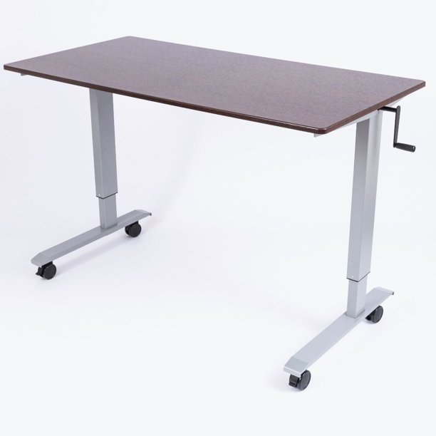 High Sd Crank Adjustable Stand Up, Standing Desk Crank