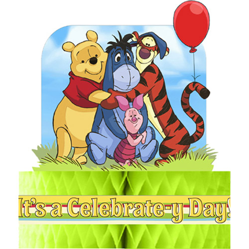 Winnie the Pooh and Pals Honeycomb Centerpiece (1ct)