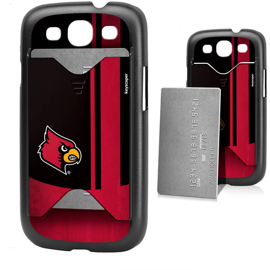 Louisville Cardinals Galaxy S3 Credit Card Case