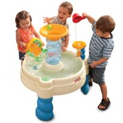 Little Tikes Spiralin' Seas Waterpark with Lazy River Splash Action for Kids 2+ Years