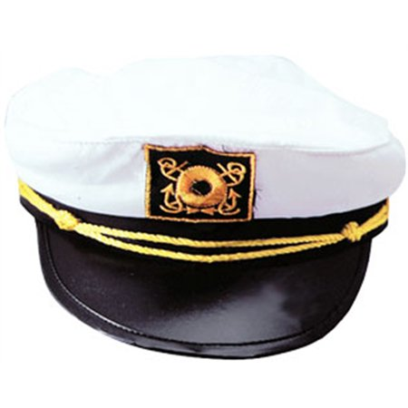 Captains Boat Yachting Yacht Sailing Fishing Hat Cap Costume Accessory