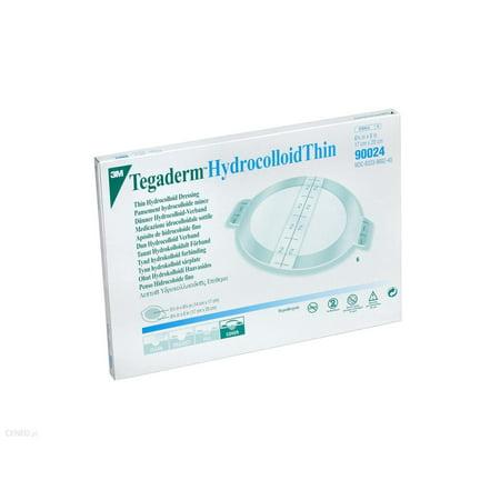 Tegaderm Hydrocolloid Thin Dressing 90024 Box of 6, - Tegaderm Thin