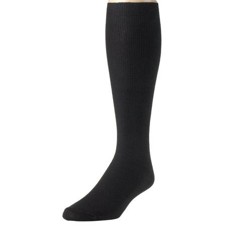 Sportoli Men's Classic Soft Ribbed Knit Cotton Blend Comfortable Knee High -
