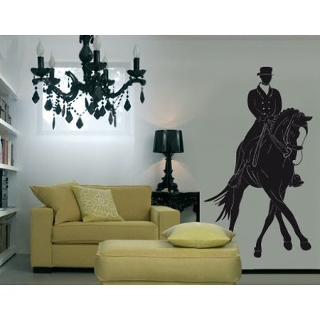 Horse Rider Wall Decal Wall Sticker Vinyl Wall Art Home Decor Wall Mur