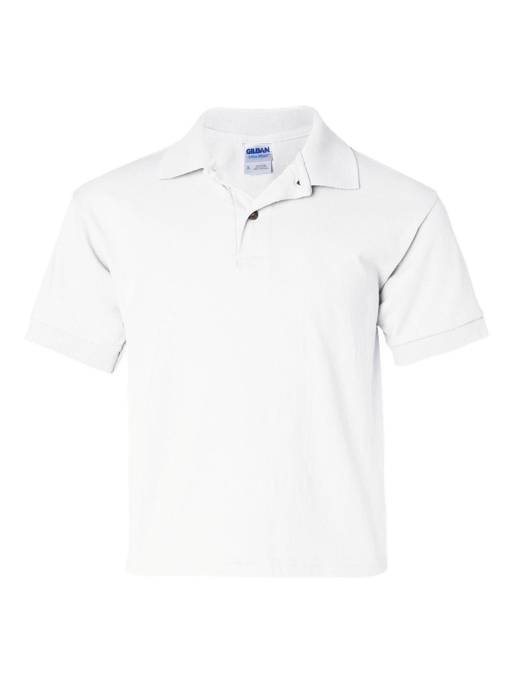 Gildan Youth 6 oz., 50/50 Jersey Polo